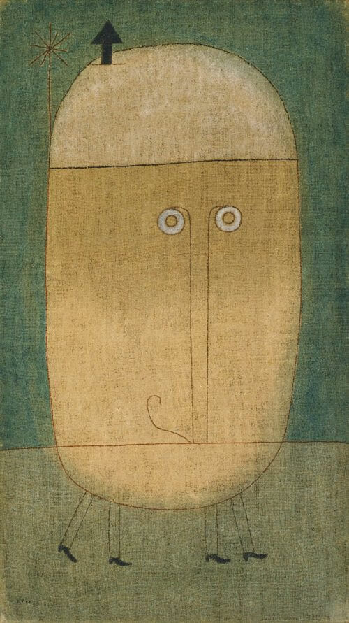 Mask of Fear, 1932 by Paul Klee