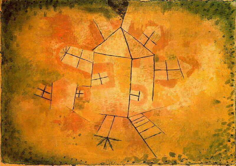 Revolving House, 1921 by Paul Klee